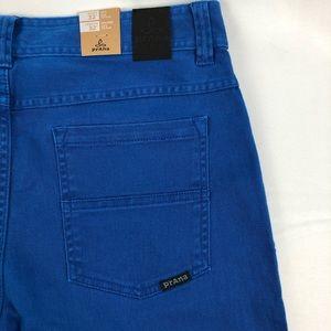 PrAna Theorem Slim Fit Sapphires Blue Jeans